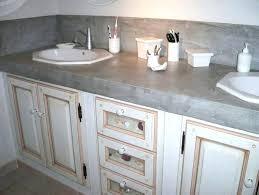 plan de travail cuisine effet beton beton cire sur carrelage plan de travail cuisine beton cire gris