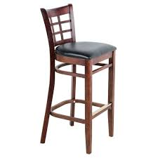 lancaster table and seating lancaster table seating mahogany window back bar height chair with