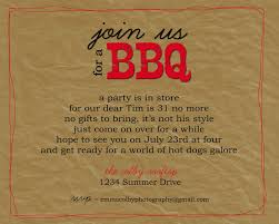 bbq party invitation wording bbq pinterest