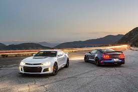 camaro zt1 2017 chevrolet camaro zl1 vs 2017 ford mustang shelby gt350r the
