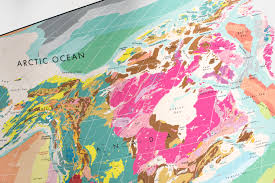 Geological Map The Future Mapping Company 4 Facts About Our Geological Map