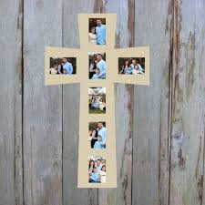 cross picture frame wood art unfinished wood frame wall decor