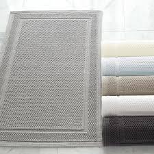 Geometric Bath Rug Bath Towels U0026 Rugs Kassatex