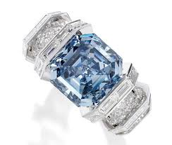 cartier diamond rings images Cartier 39 s 25 million sky blue diamond ring is coming to sotheby 39 s jpg