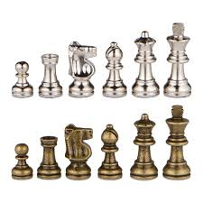 Amazon Chess Set Amazon Com Odysseus Metal Weighted Chess Pieces With Extra Queens