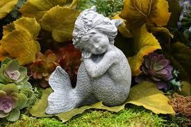 mermaid garden statue merissa concrete