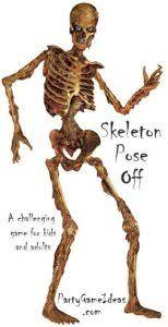 posable skeleton skeleton pose party
