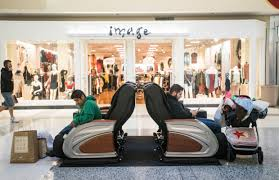 black friday massage chair black friday crowds in the inland empire stay up late get up