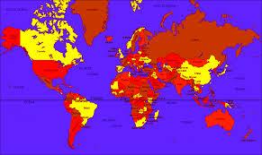 True Map Of The World by Grnlnd U003e Afrca