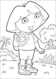dora explorer coloring pages dora explorer holiday
