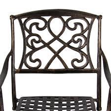 Cast Aluminum Outdoor Furniture Manufacturers Outdoor Cast Aluminum Swivel Bar Stool Patio Furniture Antique