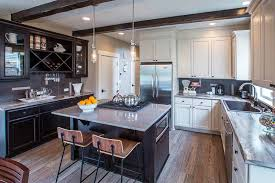 two tone kitchen cabinets with black countertops 27 two tone kitchen cabinets stylish design ideas