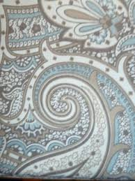 Blue Paisley Shower Curtain Brown And Blue Paisley Shower Curtain U2013 My Site