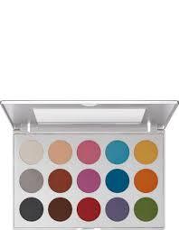 kryolan professional make up viva brilliant color palette 15 colors kryolan professional