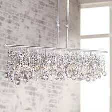 Modern Large Chandelier A Large Modern Chandelier Design In A Classic And Chrome