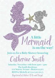 mermaid baby shower invitations mermaid baby shower invitation baby personalized teal