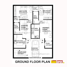 Home Design For 100 Sq Yard House Plan For 30 Feet By 40 Plot Size 133 Square Yards Plans