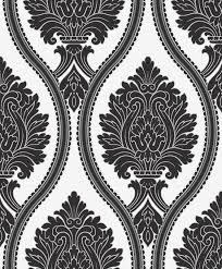 Black Damask Wallpaper Home Decor by Easy Interior Design Wall Paper Wallpaper Designs Idolza