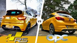 opel renault opel corsa opc vs renault clio rs trophy which sounds better