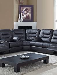Sectional Sofa With Recliner by Best 25 Black Sectional Ideas On Pinterest Black Couches Black