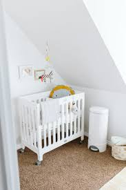 Solid Wood Mini Crib by Bloom Alma Mini Crib White Nursery Alma Mini Crib Pinterest