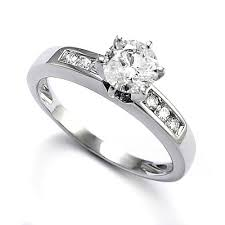 white gold diamond ring anzor jewelry 14k solid white gold diamond engagement ring