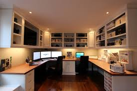 Home Office With Two Desks Home Design 79 Surprising Two Person Desk Offices