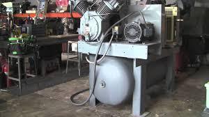 ingersoll rand model 7100 high volume compressor youtube