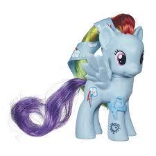 my pony ribbon image cutie magic rainbow dash doll with ribbon jpg my
