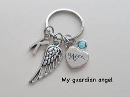 remembrance keychain in memory of keychain remembrance keychain angel