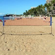 amazon com new portable 10 u0027x5 u0027 badminton beach volleyball tennis