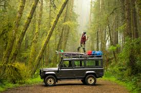 land rover jungle land rover defender pacific north west fjallraven chris