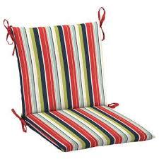 knife edge hampton bay stripe outdoor chair cushions