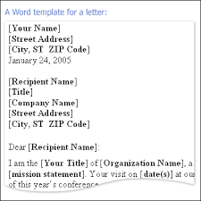 8 microsoft word business letter template memo formats