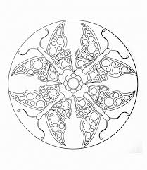 free mandalas page mandala to color animals free butterflies