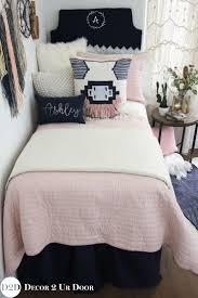 Twin White Comforter Set Bedding Dorm Room Bedding And Decor Home Interior Design Ideas