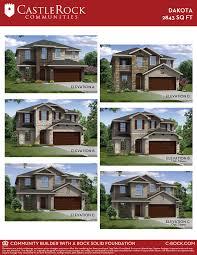 dakota silver home plan by castlerock communities in sunfield dakota floor plan dakota elevations