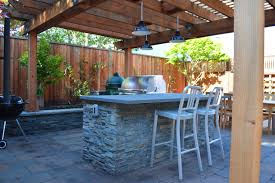 outdoor kitchen lighting ideas photos hgtv midcentury modern exterior and stone patio clipgoo