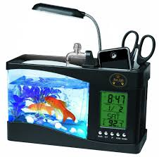 gadget de bureau meteo all in one digital desktop aquarium products