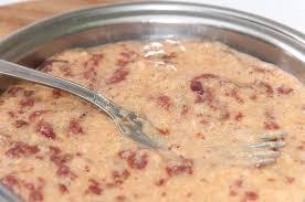 cuisine serbe recette domestique serbe de foie de poulet de cuisine photo stock