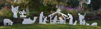 large outdoor nativity set mynativity