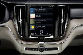 2018 volvo xc60 infotainment system photos first pictures