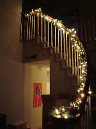 Christmas Lights For Stair Banisters December 2009 The Mac And Cheese Chronicles