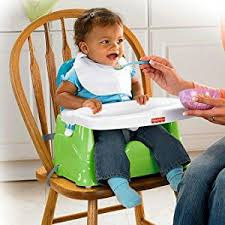 Baby Chair Clips Onto Table Amazon Com Fisher Price Healthy Care Booster Seat Green Blue