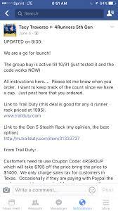 buy my toyota gobi roof rack group buy winter 2015 page 39 toyota 4runner