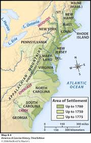 colonial america map maps charts graphs