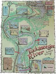 nantahala river map tuckaseegee canoeing association
