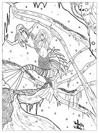 fairy tales coloring pages for adults justcolor