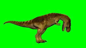 dinosaur t rex eats green screen effect youtube
