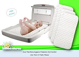 Changing Table Cover Premium Changing Pad Liners Waterproof Antibacterial